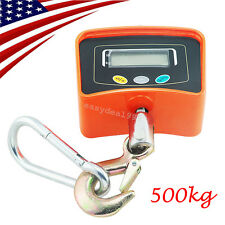 FDA Digital Crane Scale 500 KG / 1100 LBS Heavy Duty Industrial Hanging Scale US