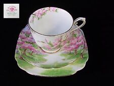 Royal Albert BLOSSOM TIME Trio Cup Saucer & Plate Eng 1st EC c1930's