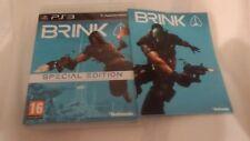 Brink (PS3) special edition complete