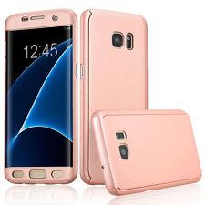 NUOVO 360 ° Custodia per Samsung Galaxy J5 2016 in oro rosa in bundle