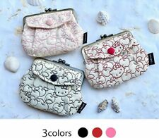 Sanrio Hello Kitty Metal Clasp Wallet Purse Coin Case Bag 1 of 3 Colors Apple