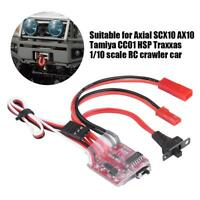 30A Brushed ESC Winch Switch Controller RC Parts for 1/10 RC Crawler Car #GD