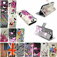 Fashion Flip Leather Wallet Card Slot Pouch Soft Cover Case For Huawei Ascend G7