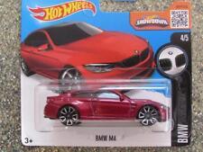Hot Wheels 2016 #189/250 BMW M4 rouge étui E