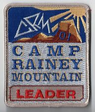 "Activity Patch Camp Rainey Mtn NE GA Council 2000 ""Leader"" PP 700180"