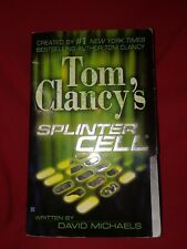 Tom Clancy's Splinter Cell David Michaels Berkley 2004 PaperBack book spy mmpb
