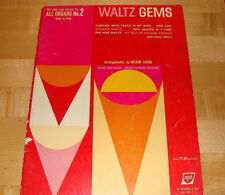Play Now Waltz Gems for All Organs No. 2 arr. Nelson Varon lyrics & chords 1962