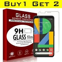 Screen Protector For Google Pixel 4 3 3a 2 XL Gorilla Tempered Glass TWIN PACK