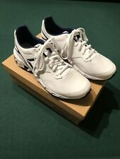 New Reebok Ridgerider Leather Men Sneaker White Size 10 US Walk Run Trail