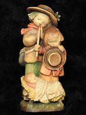 Anri wood carving Figurine Christmas statue Adoration of Christ  by Ferrandiz