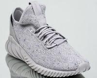 adidas Originals Tubular Doom Sock Primeknit PK sneakers new grey white CG5512