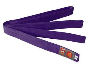 Ju-Sports Budo-Gürtel violett Karate, Judo, Ju-Jutsu, Taekwondo-Gürtel, BELT