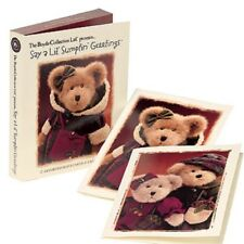 Boyds Bears Say A Lil Sumptin Blank Note Cards Set of 12 NIB