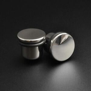 Steel Ear Plugs Gauges Surgical steel Single Flare Plug SIBJ Quality