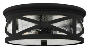 New In Box. Lakeview Lighting Two-Light Flush Mount, Outdoor Ceiling Light.