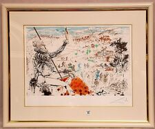 "toSalvador Dali - Lithograph, ""L'Age d'Or"" - L/E  Hand Signed by Artist"