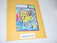 New JUST DANCE: DISNEY PARTY 2 game for Microsoft XBOX 360 KINECT system