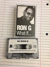 DJ Ron G What If Tape Kingz Harlem NYC Mixtape 90s Hip Hop Cassette Tape