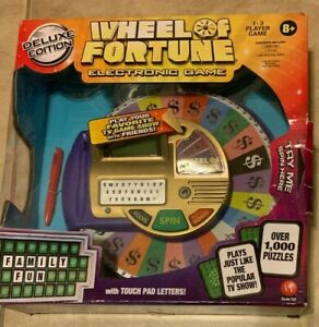 Wheel Of Fortune Deluxe Edition Electronic Game NEW factory sealed Irwin