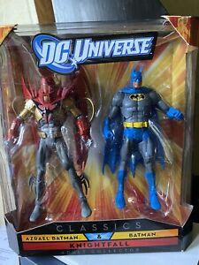 Dc Universe Classics Batman Azrael 'knight fall' Two Pack New .
