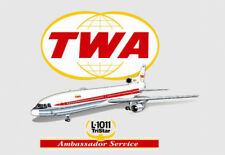 """TWA Airlines L1011 3.25""""x2.25"""" Collectibles Handmade Fridge Magnet (LM14222)"""