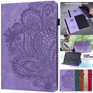 For Amazon Fire HD 10 Plus 2021 11th Gen Leather Stand Case Cover With Card Slot