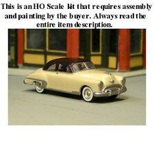"""HO SCALE: 1949 OLDSMOBILE """"ROCKET 88"""" 2-DOOR SEDAN by Sylvan-Kit V-167"""
