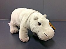 NATIONAL GEOGRAPHIC BABY PLUSH HIPPO HIPPOPOTAMUS 16CM STUFFED ANIMAL TOY - BNWT