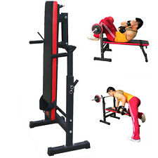 Heavy Dutyme Folding Weight Bench Flat/Incline/Decline Gym/Dumbbell Exercise SY