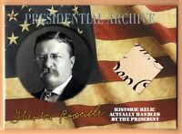 2020 A Word From POTUS ** THEODORE ROOSEVELT  PRESIDENTIAL ARCHIVE  RELIC