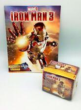 PANINI ALBUM + BOX 50 Bustine IRON MAN 3 IRONMAN 50 packets figurine Stickers