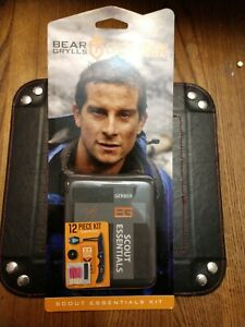 Gerber Bear Grylls Compact  Scout Knife & Essential 12 Piece Survival Kit