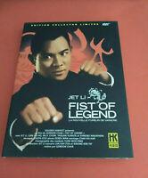 FIST OF LEGEND - EDITION COLLECTOR LIMITEE - JET LI - 2 DVD - VF - BONUS