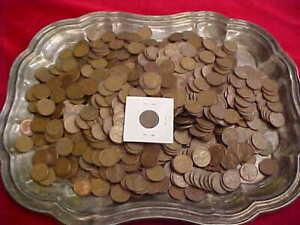 510) 1500+ S Mint Lincoln Wheat Cents - 1909 VDB Guaranteed - Starts $75.00