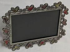 "Fetco Aluminum Hearts Picture Frame, ""Live Love Laugh"""