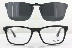 Custom Fit Polarized CLIP-ON Sunglasses For Ray-Ban RB5279 55X18 5279