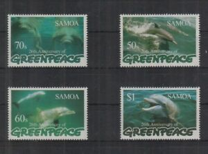 W464. Samoa - MNH - Marine Life - Dolphins