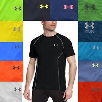 Under Armour UA Men's Fitted Fit Heatgear Active Short Sleeve Tee T Shirt