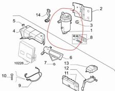 Fuel Filter Housing for Fiat Ducato Citroen Relay new and genuine 1368127080