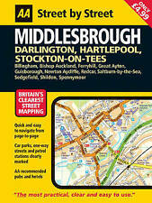 AA Street by Street Middlesbrough: Midi by AA Publishing (Paperback, 2006)