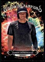 2020 Goodwin Champions Base - Splash of Color #145 Jasson Dominguez RC