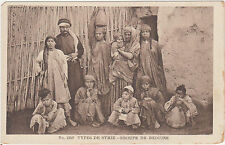 Syria,Group of Bedouins,Middle East,Arab Ethnic,c.1909