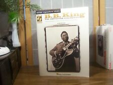 """THE B.B. KING MUSIC BOOK """"The Definitive Collection"""" w Techniques & Styles + CD"""