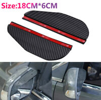 Universal Car Rear View Wing Mirror Sun Shade Shield Rain Board Eyebrow-Guard