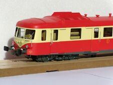 Autorails X 2800 Proto Models livrée rouge et crème à toit rouge NEUF échelle O