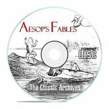 312 Classic Aesop's Fables Mp3 Audiobook Collection Children's Stories CD E91