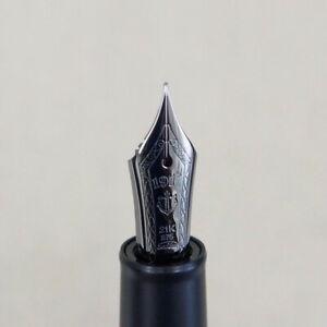 Sailor Professional Gear Imperial Black Fountain Pen Fine Nib!