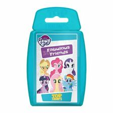 Top Trumps 2017 My Little Pony 30 Fabulous Friends Card Game With Flocked Case