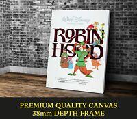 Robin Hood Animation Classic Movie Art Large CANVAS Print Gift A0 A1 A2 A3 A4
