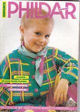 Catalogue tricot Phildar enfants N° 142 - 1987